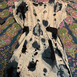 Angie Splatter Dress